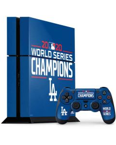2020 World Series Champions LA Dodgers PS4 Console and Controller Bundle Skin