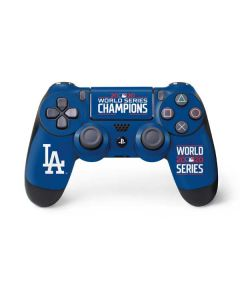 2020 World Series Champions LA Dodgers PS4 Controller Skin