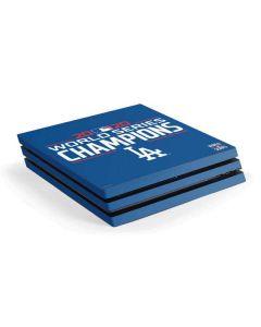 2020 World Series Champions LA Dodgers PS4 Pro Console Skin