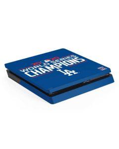 2020 World Series Champions LA Dodgers PS4 Slim Skin