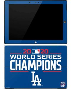 2020 World Series Champions LA Dodgers Surface 3 Skin