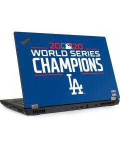 2020 World Series Champions LA Dodgers Lenovo ThinkPad Skin