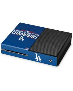 2020 World Series Champions LA Dodgers Xbox One Console Skin