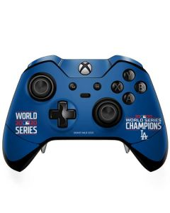 2020 World Series Champions LA Dodgers Xbox One Elite Controller Skin