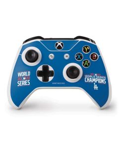 2020 World Series Champions LA Dodgers Xbox One S Controller Skin