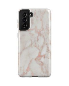 Rose Gold Marble Galaxy S21 Plus 5G Case