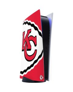 Kansas City Chiefs Large Logo PS5 Digital Edition Console Skin