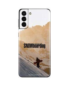 TransWorld SNOWboarding Sunset Galaxy S21 Plus 5G Skin