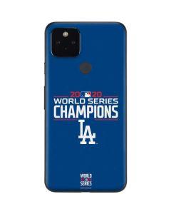 2020 World Series Champions LA Dodgers Google Pixel 4a 5G Skin