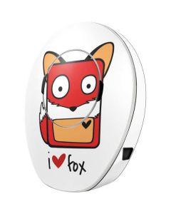 I HEART fox MED-EL Samba 2 Skin