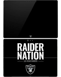 Las Vegas Raiders Team Motto Surface Pro (2017) Skin