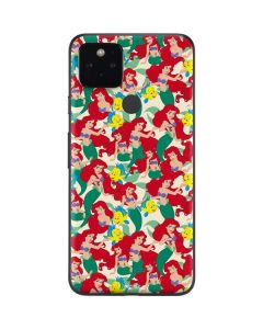 Ariel and Flounder Pattern Google Pixel 5 Skin