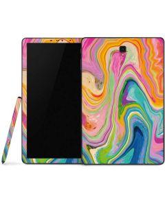 Rainbow Marble Samsung Galaxy Tab Skin