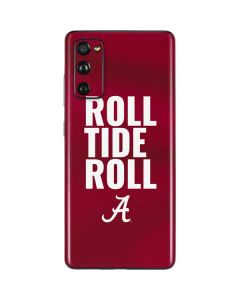 Alabama Roll Tide Roll Galaxy S20 Fan Edition Skin