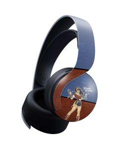 Wonder Woman Bombshell PULSE 3D Wireless Headset for PS5 Skin