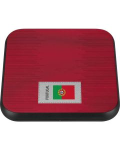 Portugal Soccer Flag Wireless Charger Single Skin