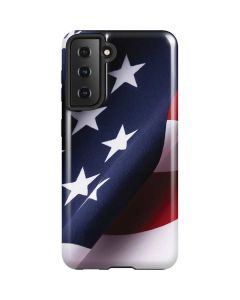 The American Flag Galaxy S21 5G Case