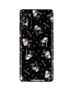 Kuromi Crown Galaxy S20 Fan Edition Skin