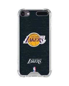 Los Angeles Lakers Black Primary Logo iPod Touch (5th-6th-7th Gen) Clear Case