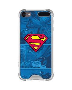 Superman Logo iPod Touch (5th-6th-7th Gen) Clear Case