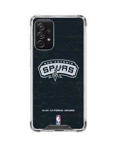 San Antonio Spurs Primary Logo Galaxy A72 5G Clear Case