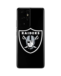Las Vegas Raiders Large Logo Galaxy S21 Ultra 5G Skin