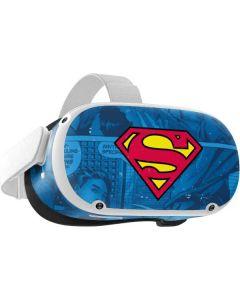 Superman Logo Oculus Quest 2 Skin