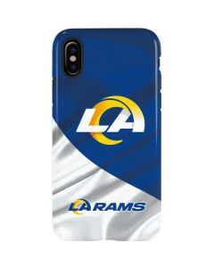 Los Angeles Rams Flag iPhone XS Pro Case