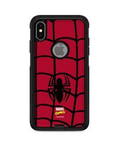Spider-Man Chest Logo Otterbox Commuter iPhone Skin
