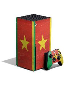 Cameroon Flag Distressed Xbox Series X Bundle Skin