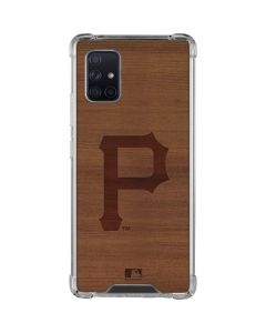 Pittsburgh Pirates Engraved Galaxy A71 5G Clear Case
