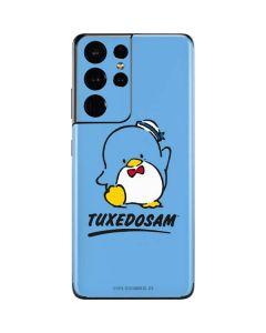 Tuxedosam Waves Hello Galaxy S21 Ultra 5G Skin