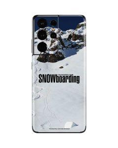 TransWorld SNOWboarding Mountain Galaxy S21 Ultra 5G Skin