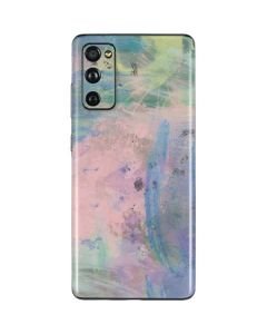 Rose Quartz & Serenity Abstract Galaxy S20 Fan Edition Skin