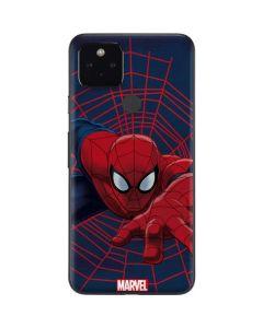 Spider-Man Crawls Google Pixel 4a 5G Skin