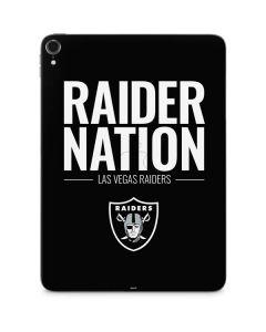 Las Vegas Raiders Team Motto Apple iPad Pro Skin