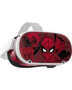 Red Spider-Man Comics Oculus Quest 2 Skin