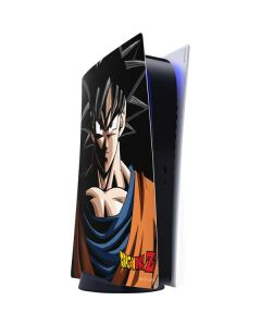 Goku Portrait PS5 Digital Edition Console Skin