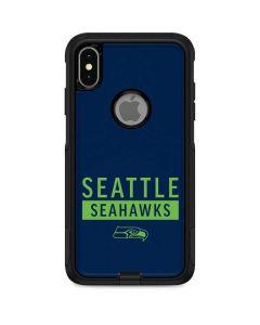 Seattle Seahawks Blue Performance Series Otterbox Commuter iPhone Skin
