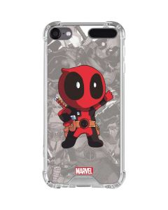 Deadpool Hello iPod Touch (5th-6th-7th Gen) Clear Case