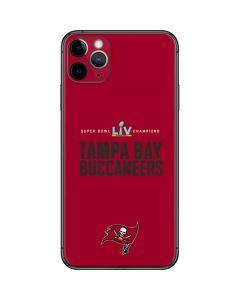Super Bowl LV Champions Tampa Bay Buccaneers iPhone 11 Pro Max Skin