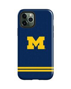 Michigan Logo Striped iPhone 12 Pro Max Case