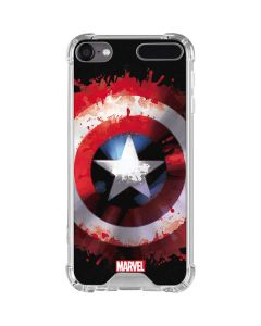 Captain America Shield iPod Touch (5th-6th-7th Gen) Clear Case