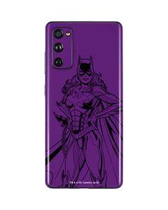 Batgirl Comic Pop Galaxy S20 Fan Edition Skin
