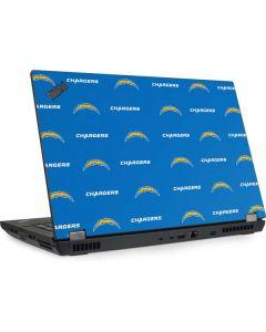 Los Angeles Chargers Blitz Series Lenovo ThinkPad Skin