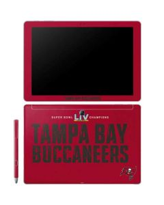 Super Bowl LV Champions Tampa Bay Buccaneers Galaxy Book 12in Skin