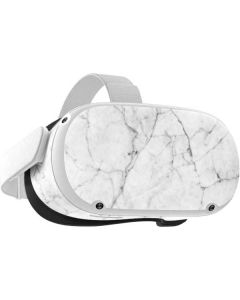 White Marble Oculus Quest 2 Skin
