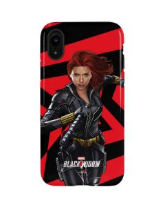 Black Widow Geometric iPhone XR Pro Case
