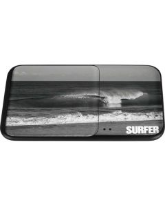 SURFER Magazine Black and White Wireless Charger Duo Skin