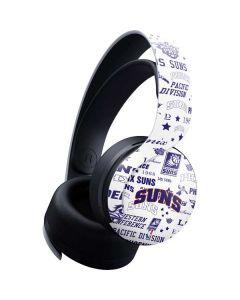 Phoenix Suns Historic Blast PULSE 3D Wireless Headset for PS5 Skin